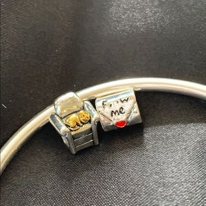 Jewelry - 925 sterling silver charms for pandora bracelet